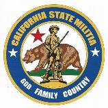 Los Angeles, Monterey, Stanislaus, San Diego, Fresno, San Francisco, San Bernardino, Riverside, Butte, Humboldt, Trinity, Unit, Militia